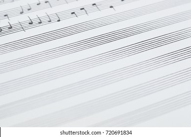 Music sheet photo for your arts projects or music publications.