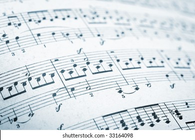 music sheets pages macro