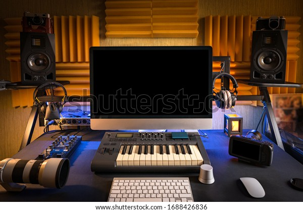 music-studio-workplace-professional-musi