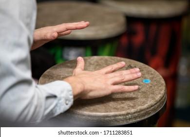 Music teacher drum drummer drum therapy