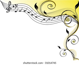 Music theme.