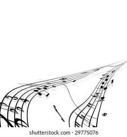 music theme (Version vector 22160479)
