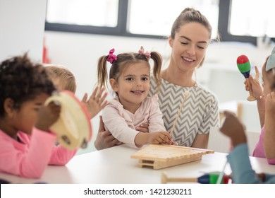 Music is very important for children in growing up. Children in preschool.