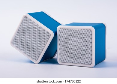 musical columns isolated on a white background