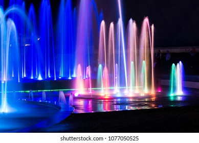 Musical Fountain Eilat, Israel