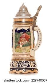 Musical german beer stein cutout