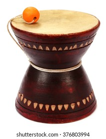 Musical instrument Damaru known as dugdugi in Bangladesh