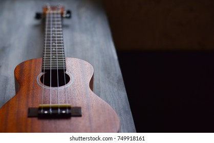 musical instrument guitar a little