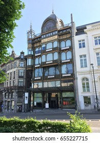 """The Musical Instruments Museum (MIM) is a music museum in central Brussels, Belgium. The seat is in the old """"Old England"""" warehouse of 1899 in art nouveau style"""