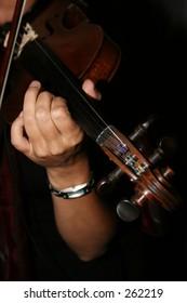 Musical Violan player