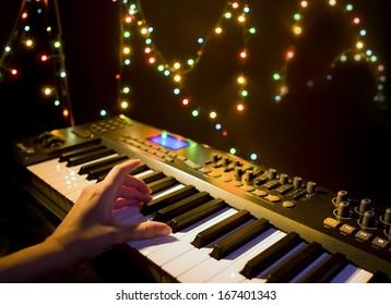 Midi-keyboard Images, Stock Photos & Vectors | Shutterstock