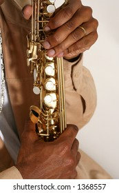 musician - sax player