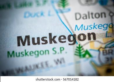 Muskegon. Michigan. USA