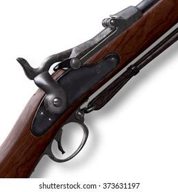 Musket Springfield  Trapdoor Rifle