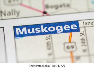 Muskogee. Oklahoma. USA