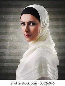 Muslim beautiful girl
