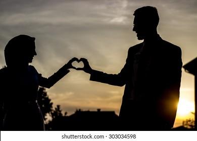 96 Gambar Dp Pasangan Muslim Romantis HD