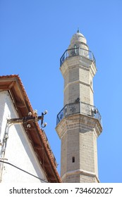 The Muslim Minaret in the Ancient City of Jaffa