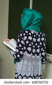 A Muslim teacher