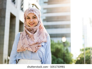 Beautiful Young Muslim Woman Images, Stock Photos & Vectors