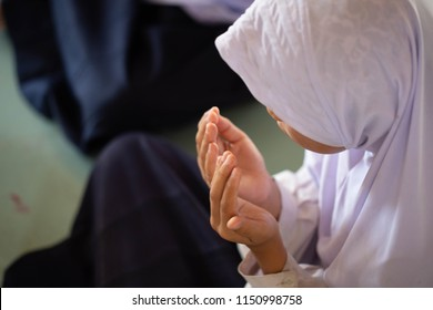 Muslims pray for God's blessings, success and forgiveness Spirituality, Faith, Worship, Hands-On, and Prayer