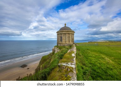 Mussenden Temple at Castlerock, Co Derry, Northern Ireland