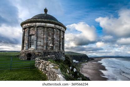 Mussenden Temple and Downhill Demesne, Northern Ireland, United Kingdom