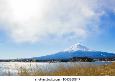 Must be to Kawaguchiko, Special view to see Fuji. Mt.