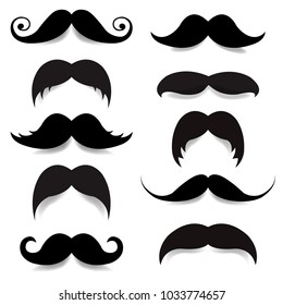 Mustache Big Set
