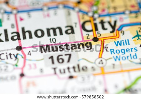 Mustang Oklahoma Usa Stock Photo Edit Now 579858502 Shutterstock