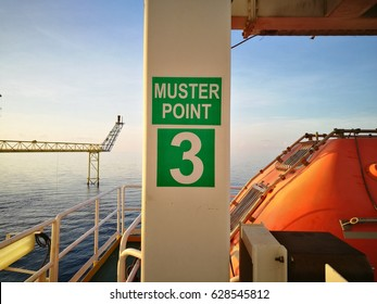 Muster check point for evacuate