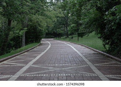 Muted Colors of Grand Promenade in Hot Springs National Park