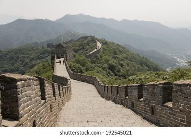 Mutianyu section of Great Wall Of China, Huairou District, Beijing, China