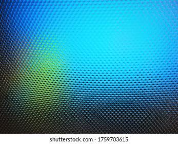 The muticolor blue shade of mega dot