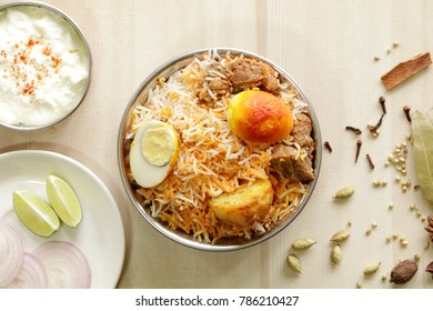 Mutton Biryani is a famous rice based dish which is usually prepared in special occasions. Rice and mutton is cooked along with Indian spices to make this delicious biryani.