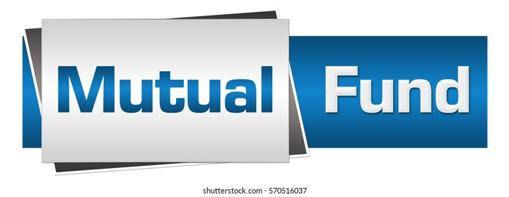 Mutual Fund Blue Grey Horizontal