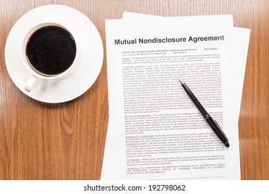 mutual nondisclosure agreement