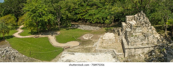 Muyil (also known as Chunyaxche) was one of the earliest and longest inhabited ancient Maya sites on the eastern coast of the Yucatan Peninsula in Mexico