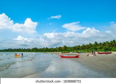 Muzhuppilangad Beach Kannur Dec 12 2018 Beautiful Landscape View From Muzhuppilangad Kannur Kerala