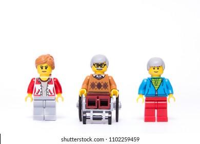 My family ,Lego minifigures