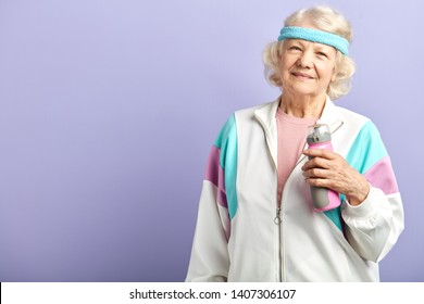 My Grandma doing in for sports regulary and feels wonderful at her sixties, active lifestyle, healthy food and regular trainings keep her in good form.