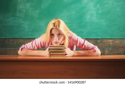 My hobby is foreign literature. Vintage literature. Traditional education. Outdated approach. Literature lesson. Student study literature. Girl likes reading books. Finding inspiration in books.