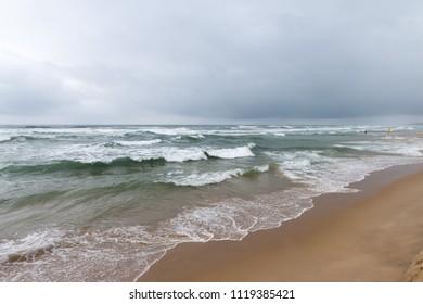 My Khe beach in Da Nang city, Vietnam
