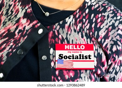 My name label is a Socialist.