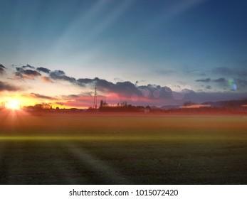 My Rosà sunset