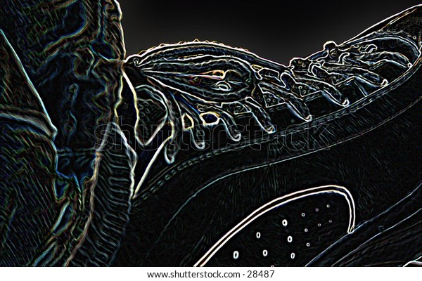 my tennis shoe