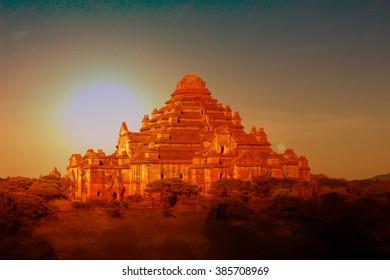 Myanmar- Dhammayangyi temples, Bagan, Myanmar.