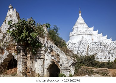 Myanmar, the great white stupa