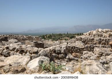 Mycenae, Greece. Views of the ancient city.