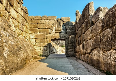 Mycenae,  near Mikines in Greece, in the north-eastern Peloponnese.